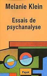Essais de psychanalyse 1921-1945