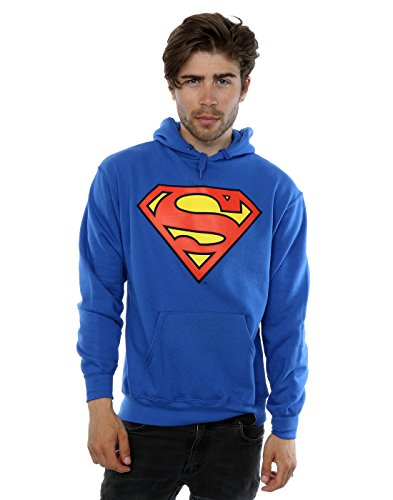 Herren - Official - Superman - Kapuzenpulli (S)