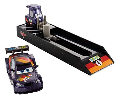 Mattel BGF10 – Disney Pixar Cars – Pit Crew Starter – Max Schnell [UK Import] (Diecast Pit)