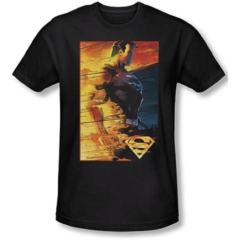 Rivestimento ignifugo-Maglietta da uomo Superman, colore: