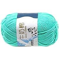 uoren Multi color caliente DIY de algodón hilado de la leche del bebé del suéter de hilo