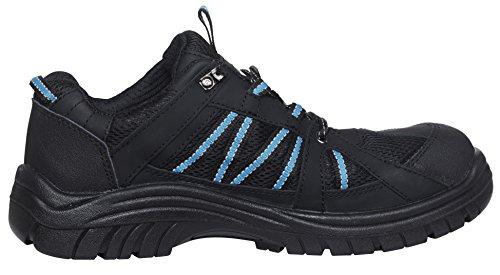 Helly Hansen Workwear, 78201, Scarpe di sicurezza S3 Kollen WW 78201 Scarpe di lavoro, in pelle nera Gr. 41