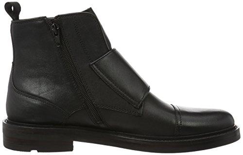 Aldo Herren Armley Kurzschaft Stiefel Schwarz (Black Leather / 97)