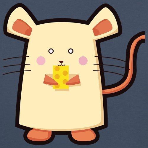 Cute Mouse - Herren T-Shirt - 13 Farben Navy