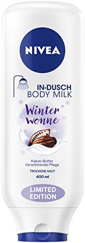 Nivea Winter Wonne In-Dusch Körper Milch, 3er Pack (3 x 400 ml)