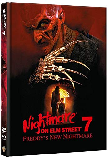 Nightmare on Elm Street 7 - Freddy's New Nightmare - Limitiertes Mediabook auf 1000 Stück (+ DVD) [Blu-ray]
