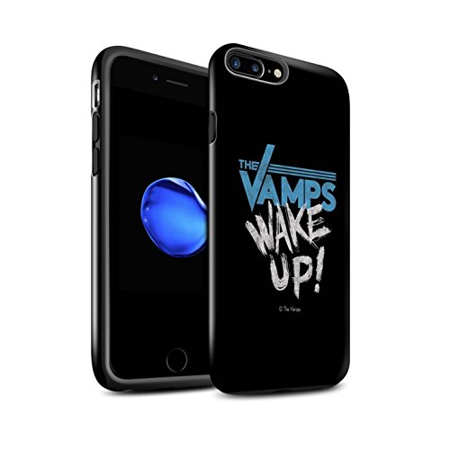 Offiziell The Vamps Hülle / Glanz Harten Stoßfest Case für Apple iPhone 7 Plus / Aufwachen! Muster / The Vamps Graffiti Band Logo Kollektion Aufwachen!