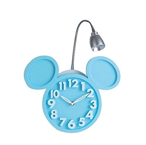 ZT Appliques Alarme l'horloge Moderne LED Créatif abat-jour personnalité Intérieur Chevet Décoration Décoration Fixation Éclairage
