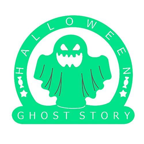(Lsgepavilion Halloween Ghost Metall Prägeschablone Stanzform DIY Scrapbooking Karte Dekor – Silber)