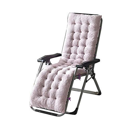 Lounge Sessel Kissen, Sonnenliege Kissen, Ersatz Für Liegen Im Innen- Oder Außenbereich, Klappbar Waschbar, Für Terassen Oder Den Garten(130/160 * 50 * 15cm) (Tippen Antislip)