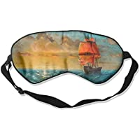 Sleep Eye Mask Beautiful Ship Art Lightweight Soft Blindfold Adjustable Head Strap Eyeshade Travel Eyepatch preisvergleich bei billige-tabletten.eu