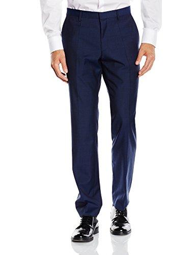 Roy Robson Herren Anzughose Slim Fit Blau (Blau 18)