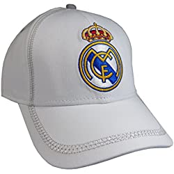 Gorra Real Madrid Blanca Adulto