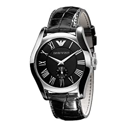 Emporio Armani Classic Analog Black Dial Mens Watch - AR0643