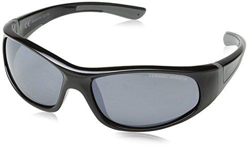 Alpina Kinder Sonnenbrille FLEXXY JUNIOR, black-grey, A8467331
