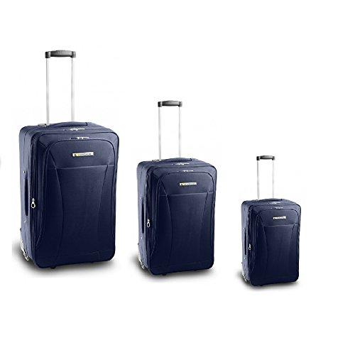 Roncato Juego de maletas, azul (Rojo) - 45.19.89