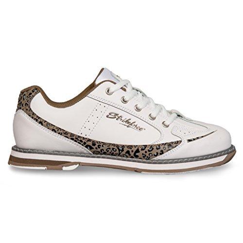 kr-strikeforce-l-050-090-curve-bowling-shoes-white-leopard-size-9-by-kr