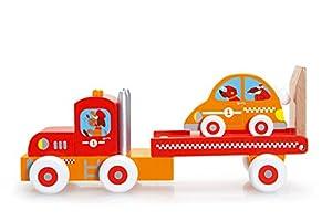 Scratch Rascador para camión y Coche de Carreras (Rojo)