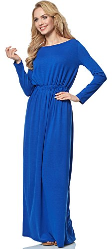 Merry Style Robe pour Femme MSSE0005 Bleuet