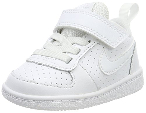 Nike Unisex Baby Court Borough Low (Tdv) Sneaker, Weiß (White), 22 EU