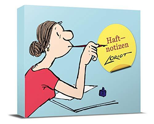 Loriot Haftnotizen - Für die Dame: Notizzettel-Box