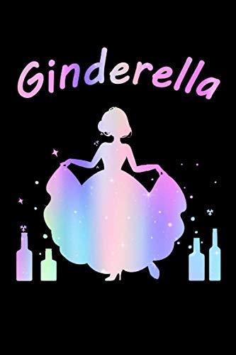 Ginderella Prinzessin JGA Party Alkohol: Dot Grid Journal oder Notizbuch (6x9 Zoll) mit 120 Seiten -