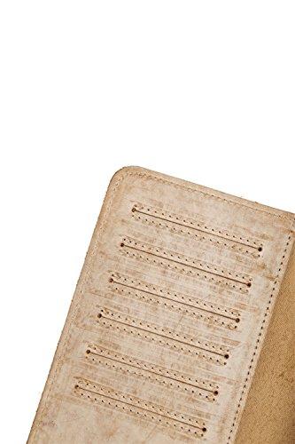 Genda 2Archer Elegante Portafoglio Lungo Dell'annata Borsa di Sicurezza Tasca del Cellulare (4183-BS) 4183-BS