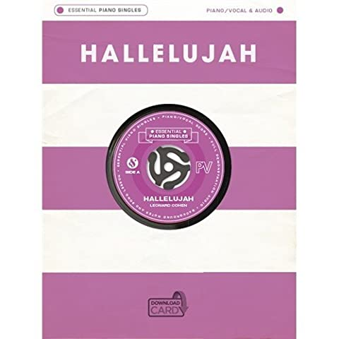 Essential Piano Singles Hallelujah Piano/Vocal/Audio