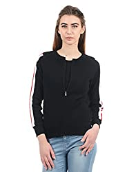 Pepe Jeans London Womens Sweatshirt (PILT200028_Black_Small)