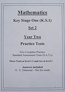KS1 Maths Practice Sats Papers (Set 2) - pdf file to print out
