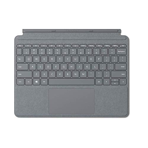 Microsoft Type Cover Signature Surface Go Platine (Alcantara) AZERTY