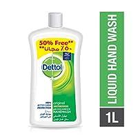 Dettol Original Anti-Bacterial Liquid Hand Wash, 1000 ml