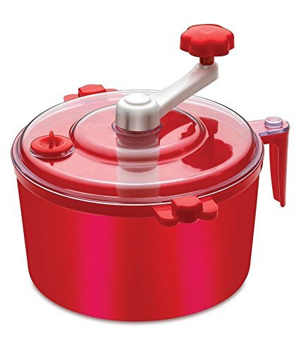 KETSAAL Plastic Automatic Atta Roti Maker for Home (RED)