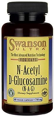 Swanson Ultra N-Acetyl D-Glucosamine (N-A-G) (750mg, 60 Vegetarian Capsules)