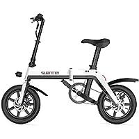 Bicicleta Eléctrica Plegable para Adultos De 14 Pulgadas, Batería De Litio De 36 V para