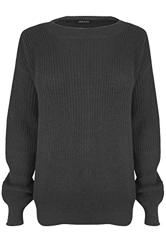 Fashion Star - Pullover - Maniche lunghe  - donna Charcoal