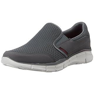 Skechers EqualizerPersistent, Herren Sneakers, Grau (CHAR), 47.5 EU