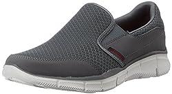 Skechers Mens Charcoal Mesh Nordic Walking Shoes - 9 UK/India (43 EU) (10 US)