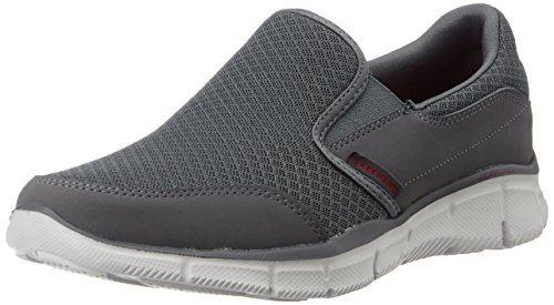 Skechers Equalizer Persistent Men Low-top Sneakers, Grey (Charcoal), 7 Uk (41 Eu)