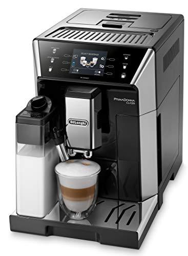De\'Longhi PrimaDonna Class ECAM 556.55.SB - Kaffeevollautomat mit integriertem Milchsystem, 3,5\'\' TFT Touchscreen & App-Steuerung, automatische Reinigung, 36,1 x 26 x 46,9 cm, schwarz