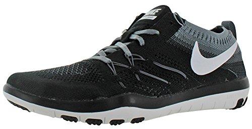 Nike W Free Tr Focus Flyknit, Scarpe da Escursionismo Donna Nero (Black (nero / grigio bianco-cool))