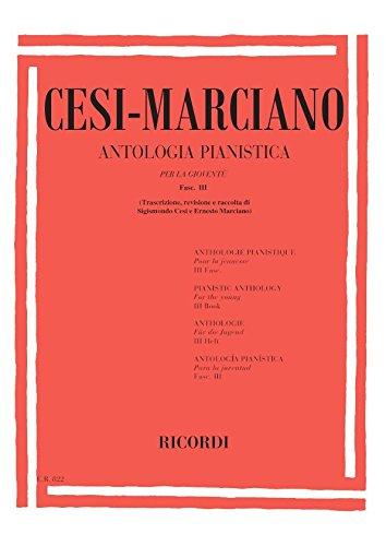 ANTOLOGIA PIANISTICA PER LA GIOVENTU - FASC. III