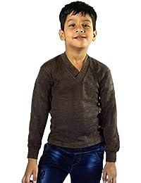 Gospel Rupa AGNI-1011 Kids Unisex V Neck Full Sleeves Premium Thermal