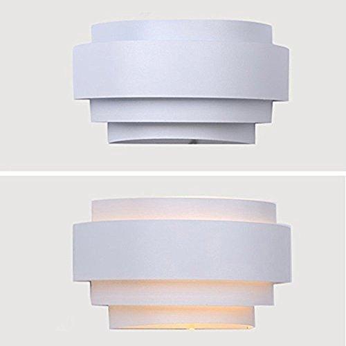 Unimall-Aplique-de-Pared-LED-Moderna-Lmpara-de-Pared-en-Interior-Iluminacion-de-Pared-de-Noche-en-Hogar-Bombilla-Includa-para-Dormitorio-Studio-Hogar-Decoracin-Porche-Closet-Garaje