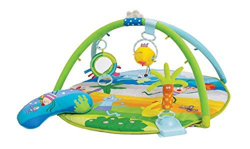 Taf Toys 11645 Krabbeldecke mit spielbogen und Stützkissen