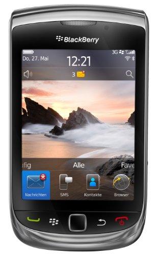 BlackBerry Torch 9800 Smartphone (8,1 cm (3,2 Zoll) Display, Touchscreen, 5 Megapixel Kamera, QWERTZ-Tastatur) schwarz Touchscreen-blackberry