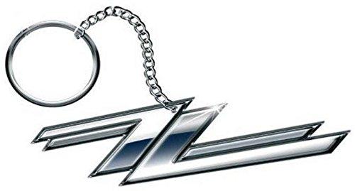 ZZ Top Schlüsselring Keychain Twin Z's band logo Nue offiziell metal Le Top Cap