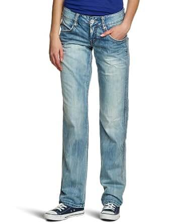 Timezone Damen Jeans Normaler Bund, Evia 3212 cool wash 16