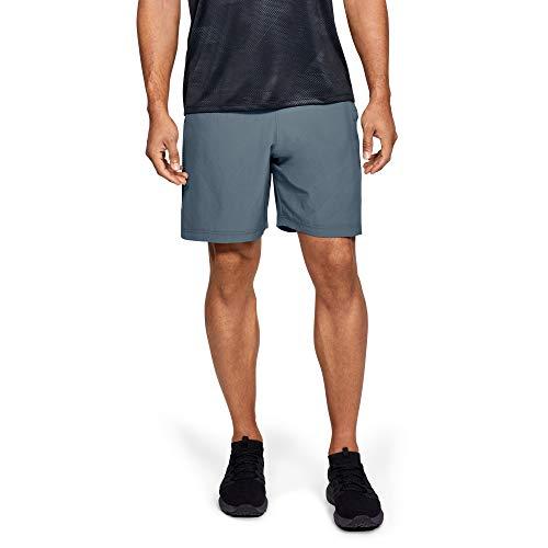 Under Armour Woven Graphic Short, Pantaloni Corti Uomo, Grigio (Pitch Gray/Black 013), L