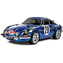 RCECHO® Tamiya EP RC Car 1/10 RENAULT ALPINE A110 Monte-Carlo 71 M06 with ESC 58591 with RCECHO® Full Version Apps Edition